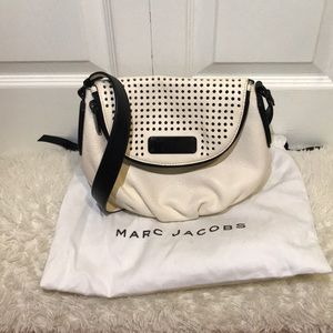MARC BY MARC JACOBS PERFORATED NATASHA LEATHER BAG
